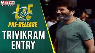 Trivikram Entry @ Lie Movie Pre Release Live || Lie Movie || Nithiin, Megha Akash || Mani Sharma - ADITYAMUSIC