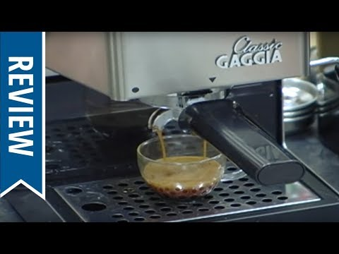 Gaggia Classic Espresso Machine Overview