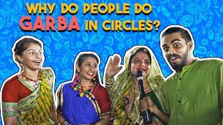 Why do people do Garba IN CIRCLES? | Kora Kendra  Borivali Navratri 2018 - ZOOMDEKHO