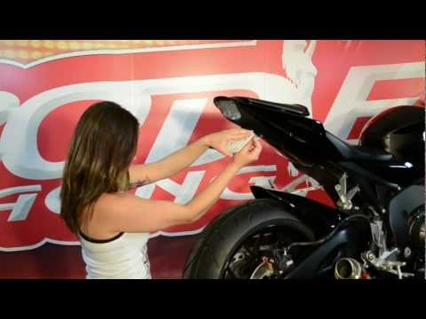 2012 Honda CBR1000RR Hotbodies Racing TAG Fender Eliminator
