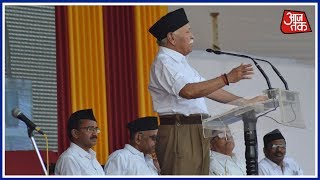 Mohan Bhagwat Slams 'Urban Naxals' And 'Tukde-Tukde Gang' In Vijayadashami Speech - AAJTAKTV