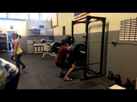 Bruno Front Squat PR 132kg(290lbs)