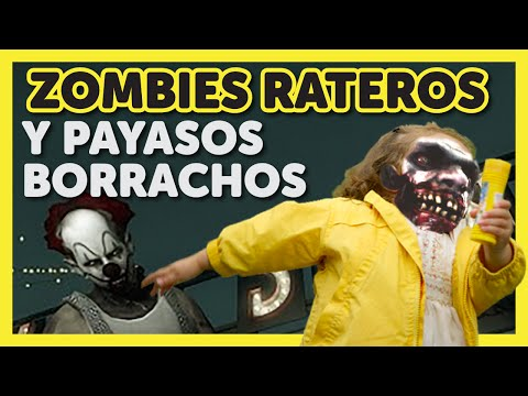 Zombies rateros y payasos ebrios | Left 4 Dead | BuePlay