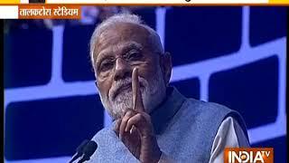 PM Modi addresses CREDAI YouthCon -19 at the Talkatora Stadium in New Delhi - INDIATV
