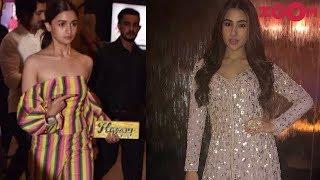 Alia Bhatt in a striped jumpsuit   Sara Ali Khan's desi style & more   Style Today - ZOOMDEKHO