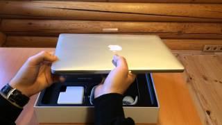 Распаковка MacBook Pro 13 2014-ого года