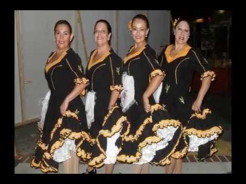 video de apertura del 1er encuentro nacional de grupos folkloricos Chilenos en USA 2012
