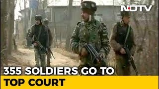 """Soldiers Challenge """"Dilution"""" Of AFSPA In Top Court, Say No Police Probe - NDTV"""