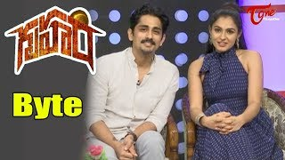 Siddharth And Andrea Bytes About Gruham Movie - TELUGUONE