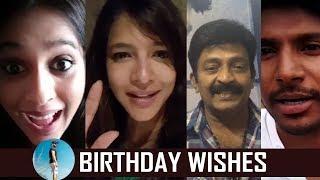 Celebrities Birthday Wishes To Director Praveen Sattaru | PSV Garuda Vega | TFPC - TFPC