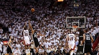 Mario Chalmers Deep Buzzer Beating 3 In Game 7