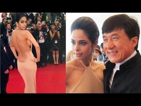 Bollywood Bombshell Mallika Sherawat Dazzles At Cannes Film Festival 2012