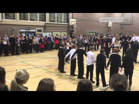 Auld Lang Syne | Hawick High School | 2014 Christmas Ceilidh