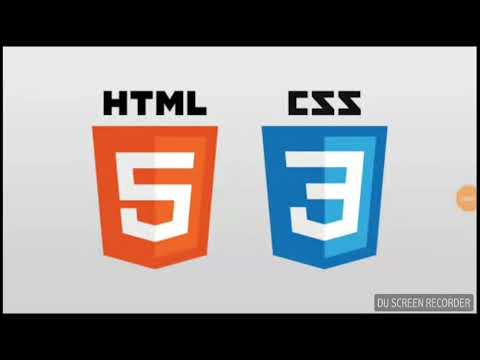 html5 and css3 tutorial in hindi urdu for beginners 2018 - يوتيوبات
