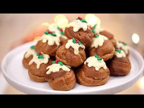 Chocolate Profiteroles (Cream Puffs) Gemma's Bigger Bolder Baking Ep 153