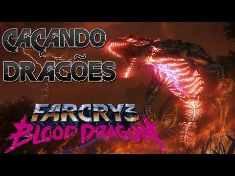 Far Cry 3 - Blood Dragon - Caçando Dragões que soltam laser pelos olhos!