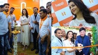 Kajal Agarwal Launches Happi Mobiles At Karimnagar Photos - RAJSHRITELUGU