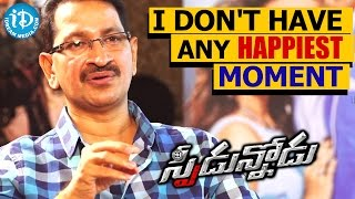 I Don't Have Any Happiest Moment - Bheemaneni Srinivas Rao || Talking Movies with iDream - IDREAMMOVIES
