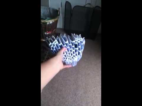 My origami dragons head try reach 10 subs
