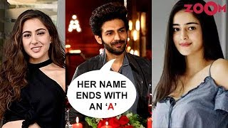 Kartik Aaryan REVEALS if he is dating Sara Ali Khan or Ananya Panday | EXCLUSIVE - ZOOMDEKHO