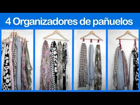 4 ideas para organizar los pañuelos