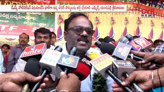 MLC Yandapalli Srinivasulu hunger Strike for DSC Notification | CVR News - CVRNEWSOFFICIAL