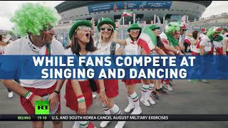 Fan Fever: Russia turns festive as World Cup gets into full swing - RUSSIATODAY