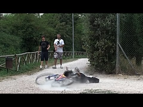 Fake Bike Accident Prank