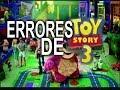 Errores de la película Toy Story 3