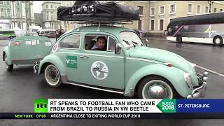 Around the world in a VW Beetle: Brazilian fan made it all the way to Russia in retro-car - RUSSIATODAY