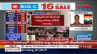 జానా రెడ్డి , కోమటి రెడ్డి వెనుకంజ | Nalgonda driving in Car, leads in 9 seats | CVR News - CVRNEWSOFFICIAL
