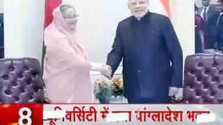 PM Modi to meet Bangladesh PM Hasina today on the occasion of Visva Bharati University convocation - ZEENEWS
