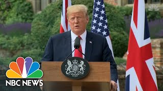 President Donald Trump: Russians Wish I 'Was Not Victor' In US Election | NBC News - NBCNEWS