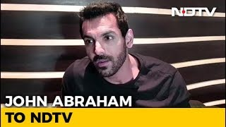 """I Am Not Insecure,"" Says John Abraham - NDTV"