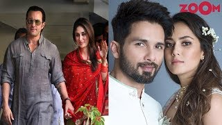 Highest Age Gap Between Bollywood Celebrity Couples | Shahid & Mira, Saif & Kareena & More - ZOOMDEKHO