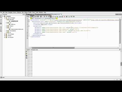 java persistence (JPA) with MySql Database part3.avi