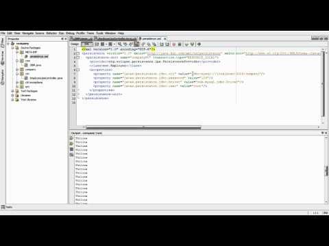 java persistence (JPA) with MySql Database part3.avi