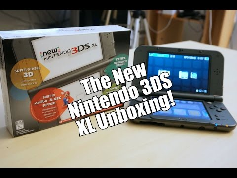 The New Nintendo 3DS XL Unboxing, Setup & First Impressions