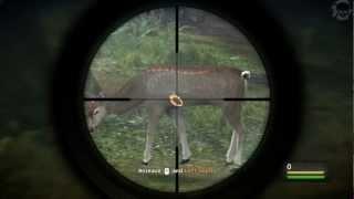 Cabelas Dangerous Hunts 2013 gameplay+комментарии MAZAVS