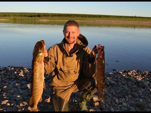 рыбалка в якутии видео на лене