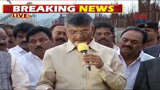 CM Chandrababu Speech Over Polavaram Project Works | Nitin Gadkari Visit Polavaram Site | CVR News - CVRNEWSOFFICIAL
