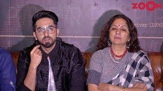Badhaai Ho stars Ayushmann Khurrana & Neena Gupta talk about #MeToo movement - ZOOMDEKHO