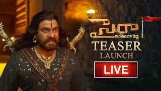 Sye Raa Teaser Launch LIVE | Chiranjeevi, Amitabh Bachchan, Ram Charan, Surender Reddy | TeluguOne - TELUGUONE