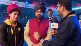 PWL 3 Day 14: Brij Bhushan praises Pooja Dhandha for defeating Odunayu at Pro Wrestling League - ITVNEWSINDIA