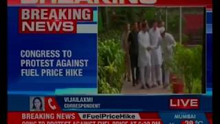 Rahul Gandhi to join Congress protest against fuel price at 6:30pm - NEWSXLIVE
