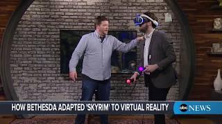 'Skyrim VR' demo: Play test the new 'Elder Scrolls' virtual reality game - ABCNEWS