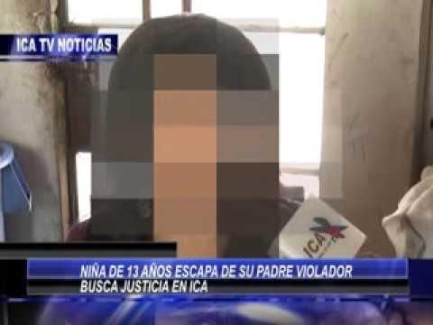 NIÑA ESCAPA DE PADRE VIOLADOR