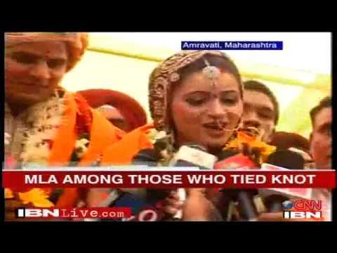 MLA Ravi Rana & Navneet Rana's samuhik vivah sohla
