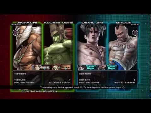 Tekken Tag Tournament 2 Ancient Ogre / Jinpachi vs Bruce / Devil Jin #2 11/18