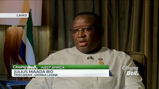 Sierra Leone President Julius Maada Bio talks on AfCFTA, his free education plan and Ebola - ABNDIGITAL